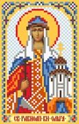 Рисунок на шелке  Св. Ольга