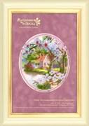 Набор для вышивания бисером и паспарту  Пора цветения