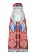 Набор для шитья и вышивания чехол на бутылку  Дед Мороз