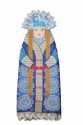 Набор для шитья и вышивания чехол на бутылку  Снегурочка