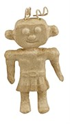 Фигурка из папье-маше мини Робот-девочка