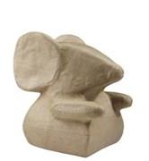 Фигурка из папье-маше средняя Мышь