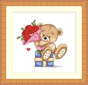 Набор для вышивания  Алые розы