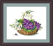 Набор для вышивания  Первоцветы
