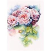 Набор для вышивания  Розовая нега