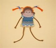 Набор для шитья и вышивания чехол на бутылку  Обезьянка Чи-чи