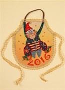 Набор для шитья и вышивания фартук   Мартышка-шалунишка