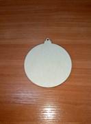 Шар елочный средний, диаметр 8 см