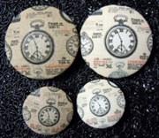 Пуговица  Часы