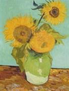 Набор для шерстяной акварели  Подсолнухи  Ван Гог