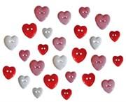 Набор пуговиц  Разбитое сердце