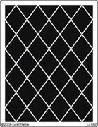 Трафарет для тиснения  Плитка диагональ