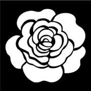 Трафарет маленький  Роза