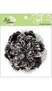 Цветок черный