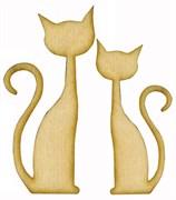 Кошечки, набор, 2 шт.
