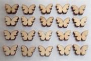 Бабочки, набор 20 шт.