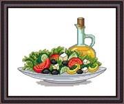 Набор для вышивания  Греческий салат