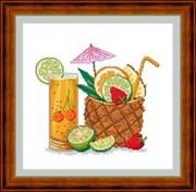 Набор для вышивания  Тропический коктейль