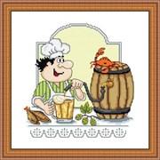 Набор для вышивания  Пивовар