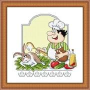 Набор для вышивания  Кролик со сметаной