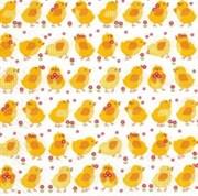 Салфетка  Желтые цыплята