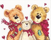 Набор для вышивания крестом  Три медведя