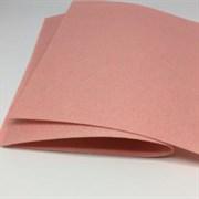 Фетр жёсткий, цвет: бледно-персиковый (№086), 20 * 30 см, толщина 1 мм