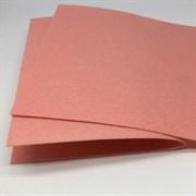 Фетр жёсткий, цвет: персиковый (№ 090), 20 * 30 см, толщина 1 мм