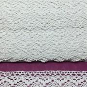 Тесьма кружевная белый 426-1