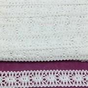 Тесьма кружевная белый 199-5
