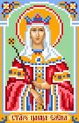 Рисунок на шелке  Св. Елена