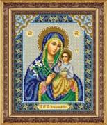 Набор для вышивки бисером  Пресвятая Богородица Неувядаемый цвет