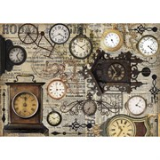 Рисовая бумага для декупажа  Винтажные часы