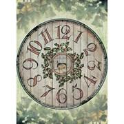 Рисовая бумага для декупажа  Деревянные часы