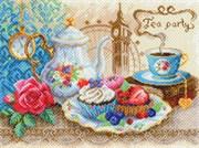 Набор для вышивания бисером и нитками  Время пить чай