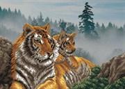 Набор для вышивания бисер  Утро в тигровой пади