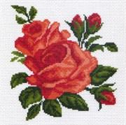 Рисунок на канве  Розы