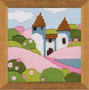 Набор для вышивания  Розовый сад