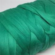 Пряжа  Зефир   0752 зеленая бирюза