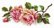 Набор для вышивания крестом  Аромат розы