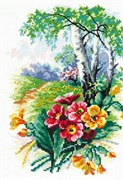 Набор для вышивания крестом  Цветущий май