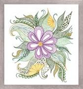Набор для вышивания  Прекрасный цветок