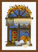 Набор для вышивания  Осеннее окошко