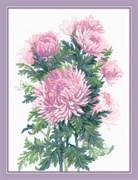Набор для вышивания  Букет хризантем