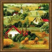 Набор для вышивания  Сербский пейзаж
