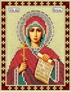 Набор для вышивки бисером  Святая Наталия