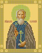 Набор для вышивки бисером  Святой преподобный Сергий Радонежский