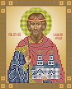 Набор для вышивки бисером  Святой благоверный князь Владислав Сербский