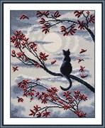 Набор для вышивания  Лунный кот