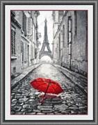 Набор для вышивания  В Париже дождь